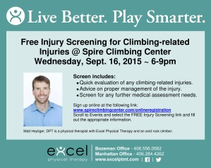 Excel PT Matt Spire Climbing Injury Screens Facebook Jpeg