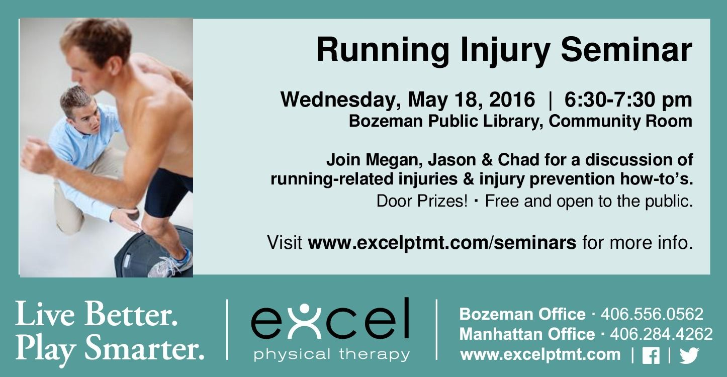 Seminars - Excel Physical Therapy   Specialized Orthopedic